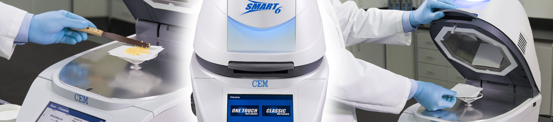 SMART 6 Moisture Solids Analyzer - One System, Limitless Testing