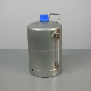 5 L Stainless Steel Bottle with Sight Tube