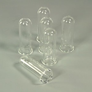 35 mL Pressure Vials, Quartz, set of 6