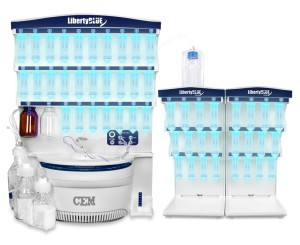 Liberty Blue Peptide Synthesis System with HT-24 Resin Loader (240 V)