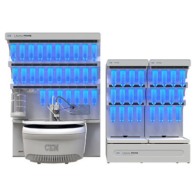 Liberty PRIME Automated Microwave Peptide Synthesizer