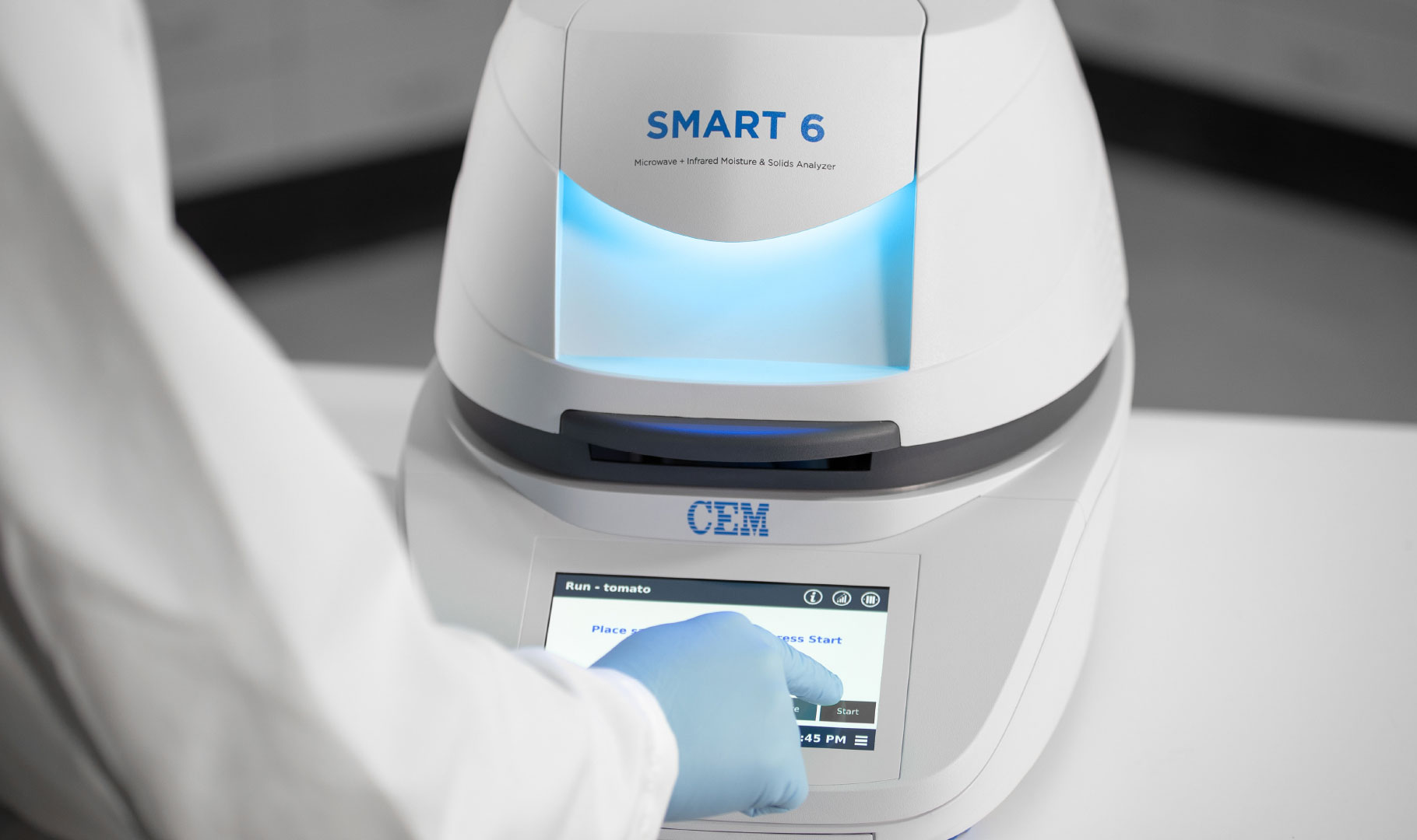 CEM - SMART 6 The gold standard in moisture and solids analysis