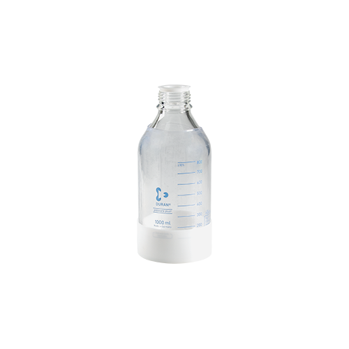 1 L Safety Coated Glass Bottle