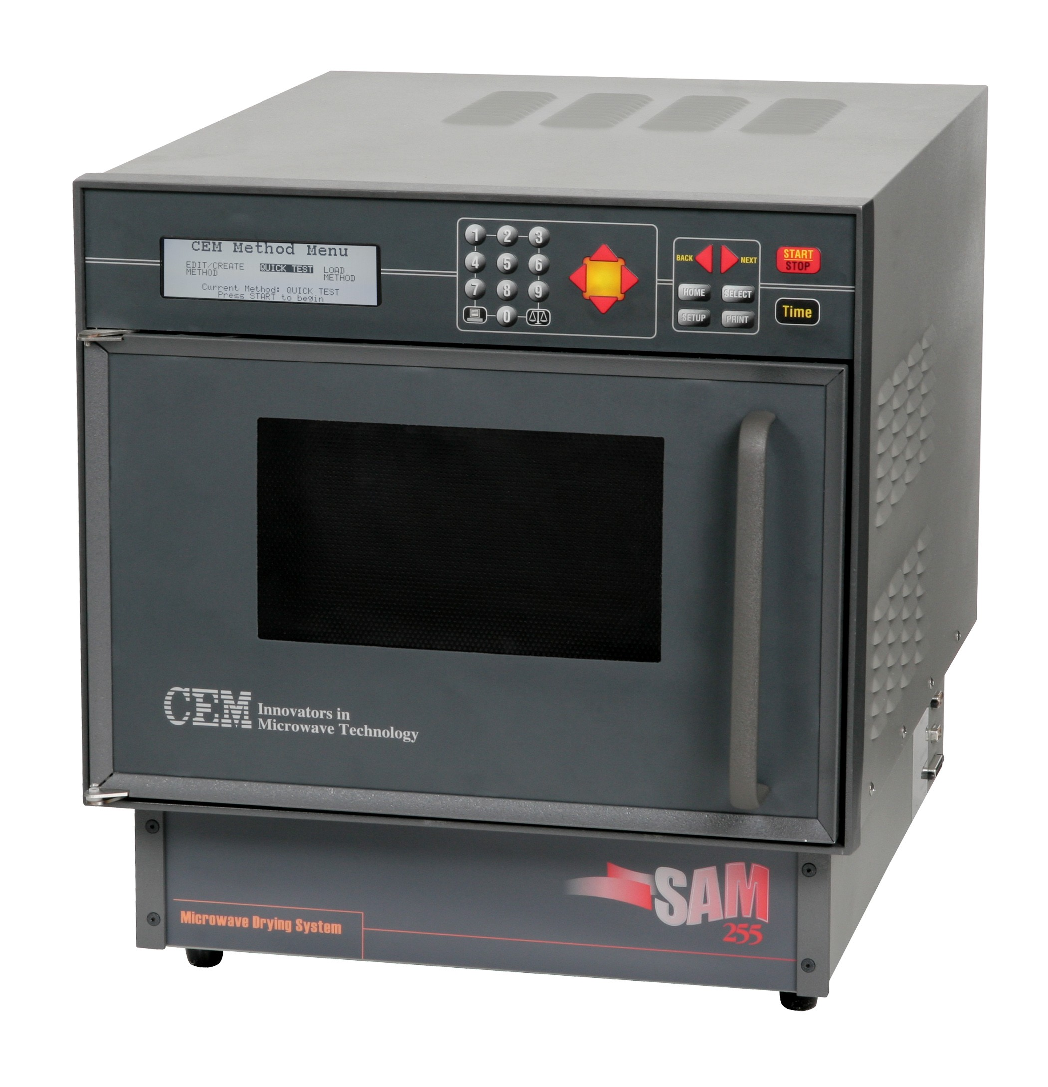 SAM 255 Microwave Solids and Moisture Analysis System