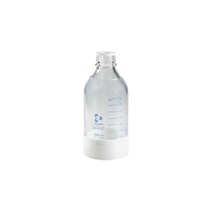 250 mL Safety Coated Glass Bottle