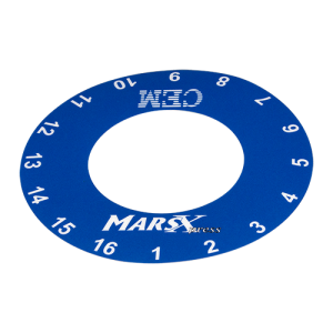 MARSXpress Turntable Label, Top (positions 1-16)
