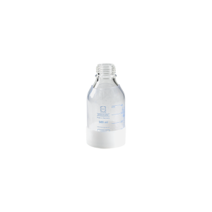 500 mL Safety Coated Glass Bottle