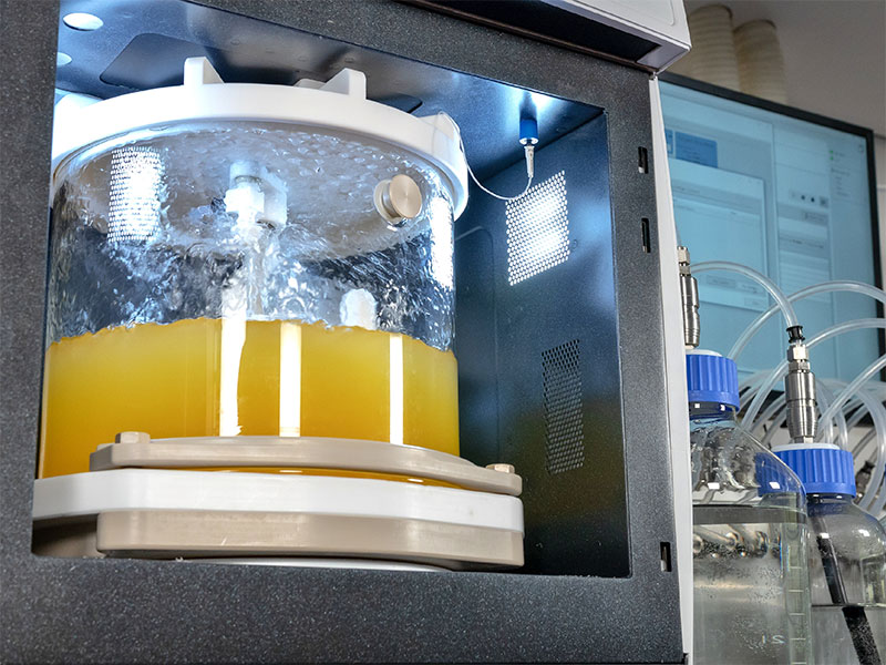 Scale Up Microwave Peptide Synthesis
