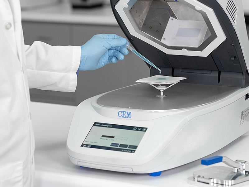 Accuracy and Precision – Microwave and Infrared Moisture Analyzer