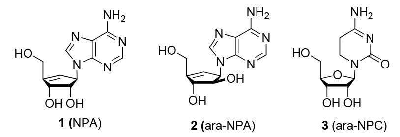 Synthesis-of-Ara-Neplanocin-A-Analogues-at-Sub-Ambient-Temperatures-Using-Microwave-Irradiation-figure-1.jpg
