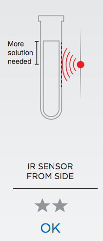 IR Sensor from the side is just OK