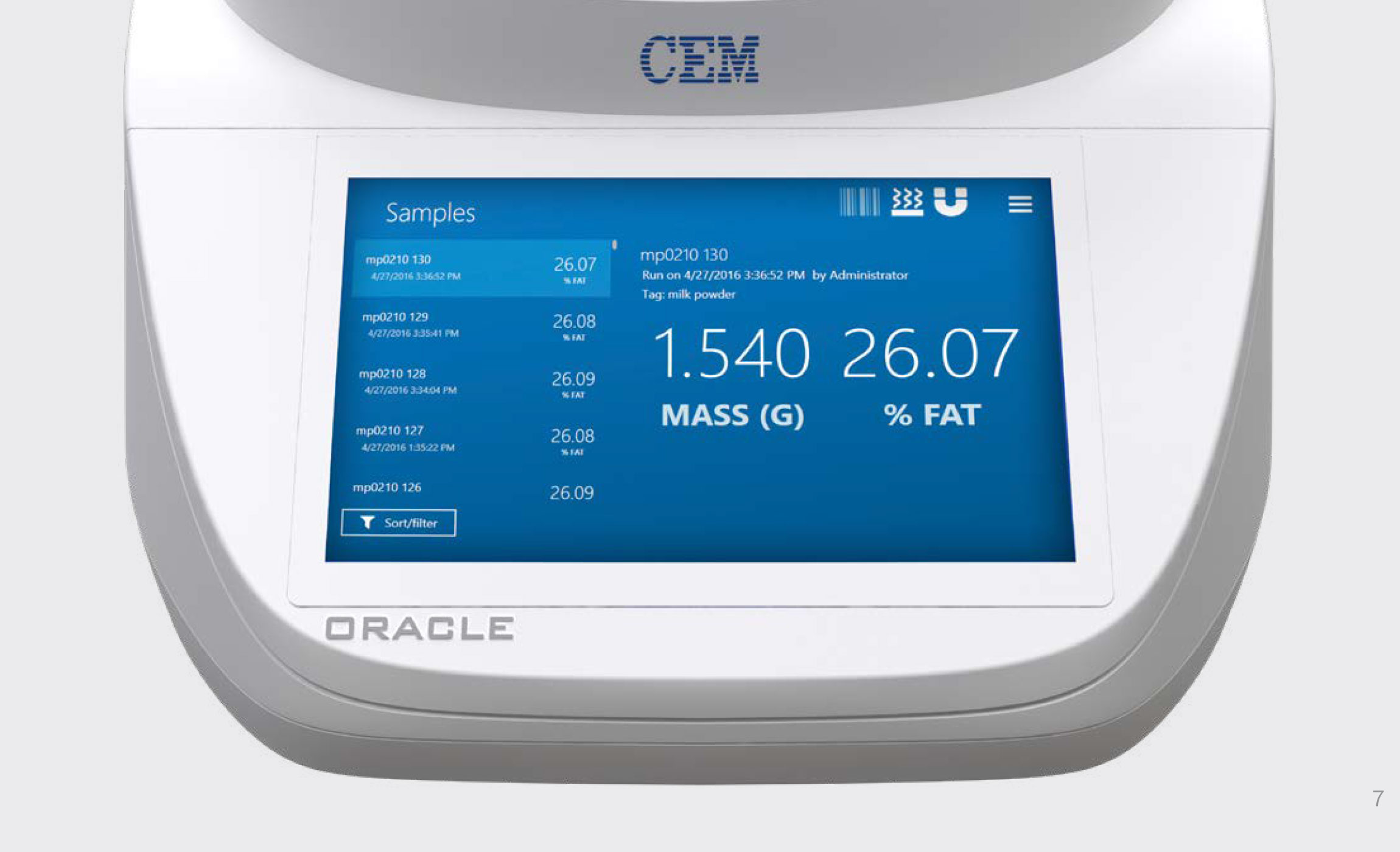 The first ever rapid fat analyzer with no method development.