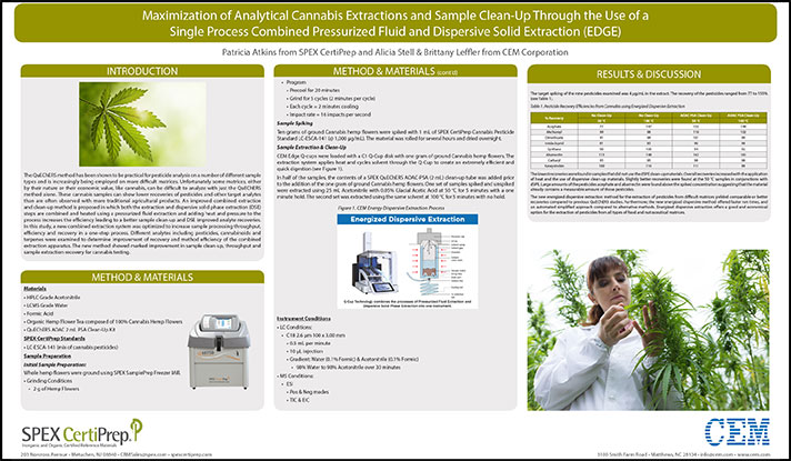 Cannabis Extractions in EDGE Poster