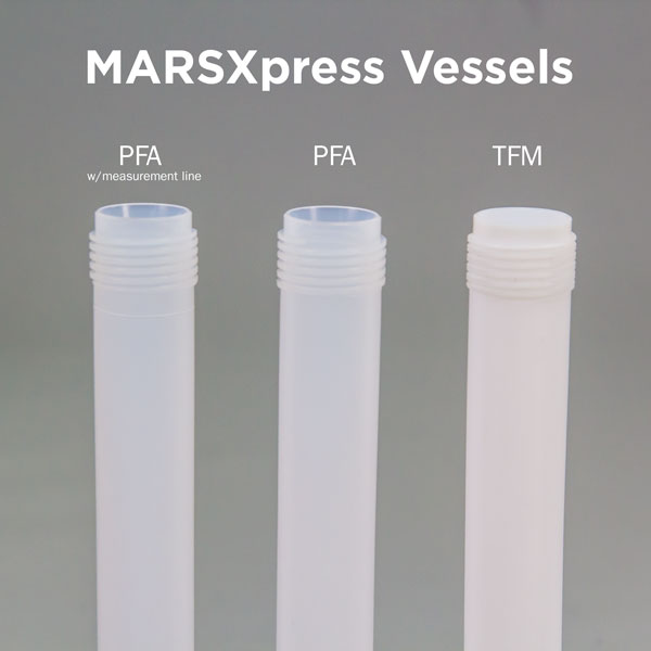 MARSXpress Vessel Comparison - Material