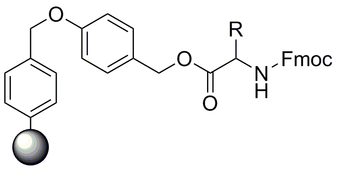 Fmoc-Asn(Trt)-Wang Resin